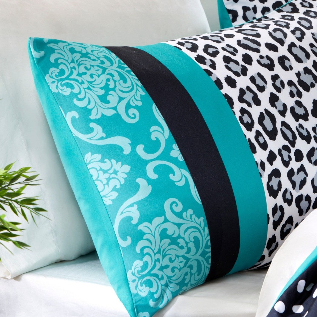 Comforter Bed Set Teen Bedding Modern Animal Girls Bedspead Update Home