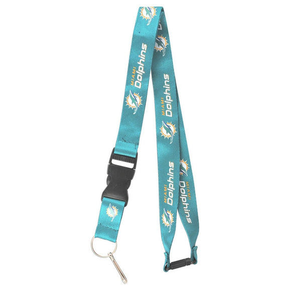 Miami Dolphins Clip Lanyard Keychain - Diamond Home USA