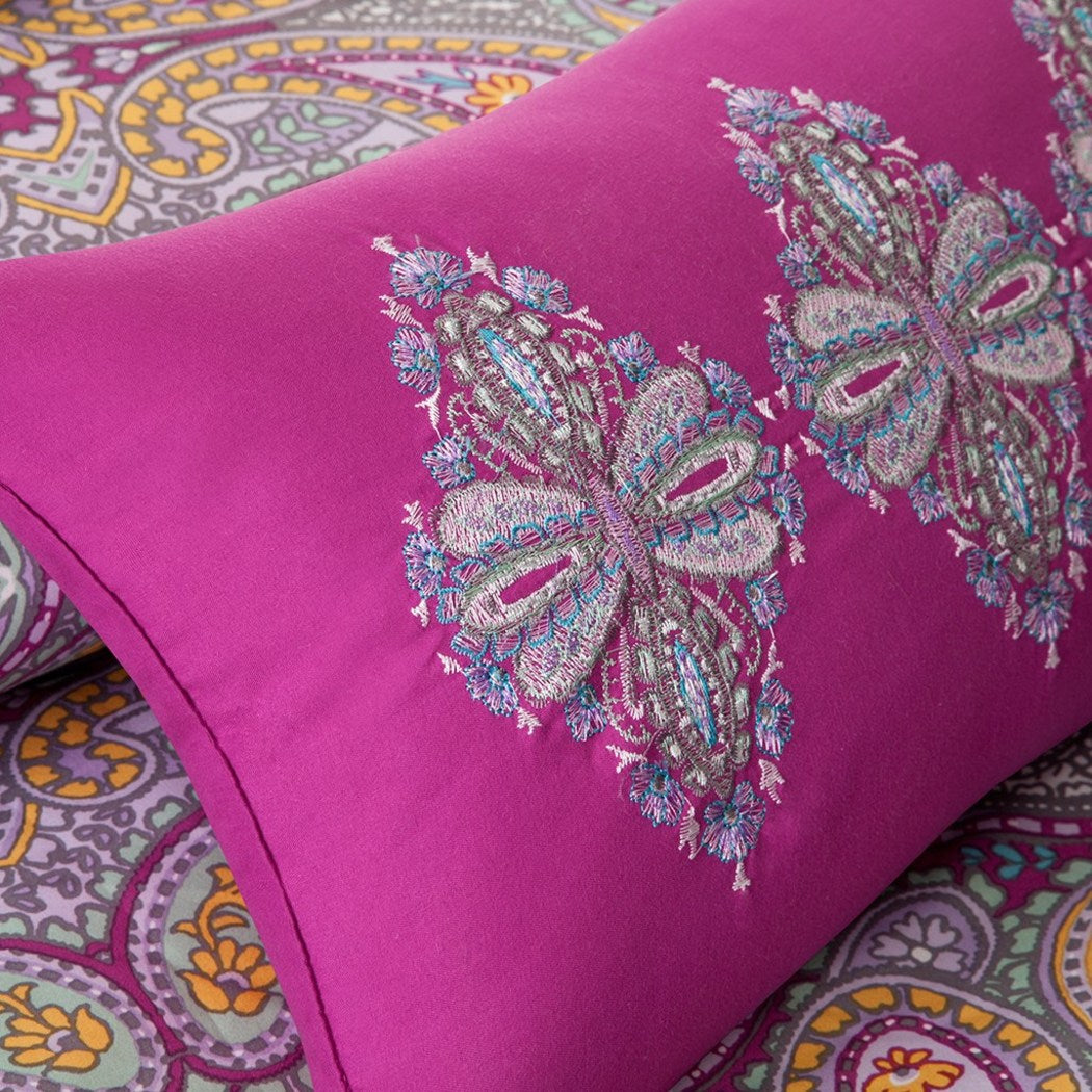 Comforter Girls Teen Bedding Set Paisley Pillows Update Your Rooms Look Instantly l
