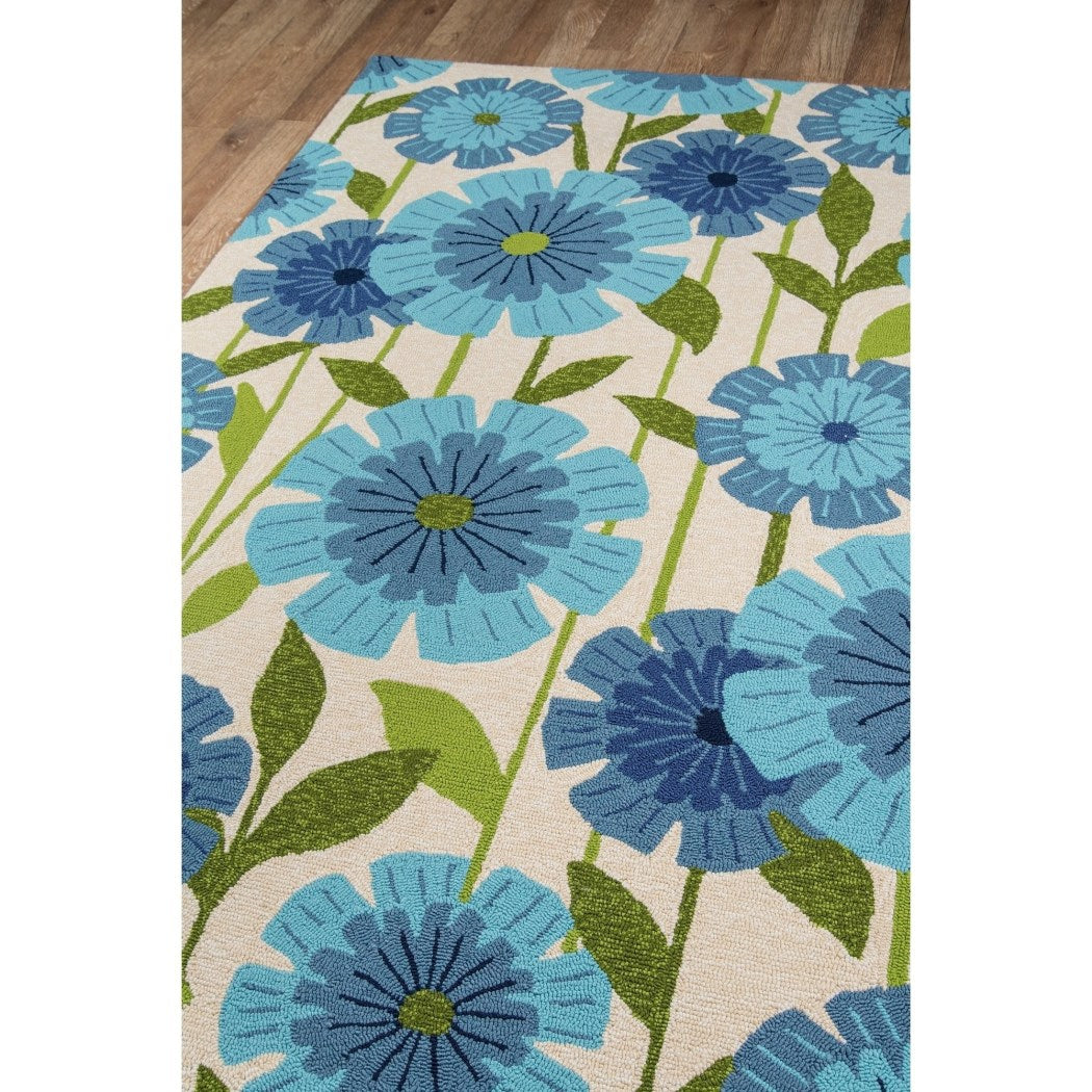 Modern Sun Flowers Area Rug Rectangle Indoor Outdoor Floral Helianthus Flower Carpet Mat Floral Pattern
