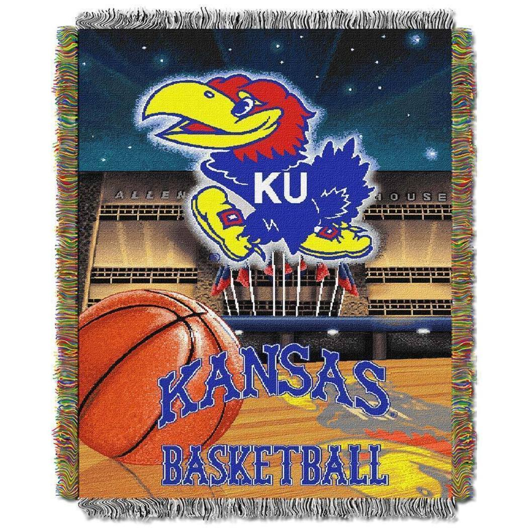 NCAA Throw Blanket Sports Collegiate Pattern Contemporary Polyester Team Logo Bed Covg Perfect Living Room