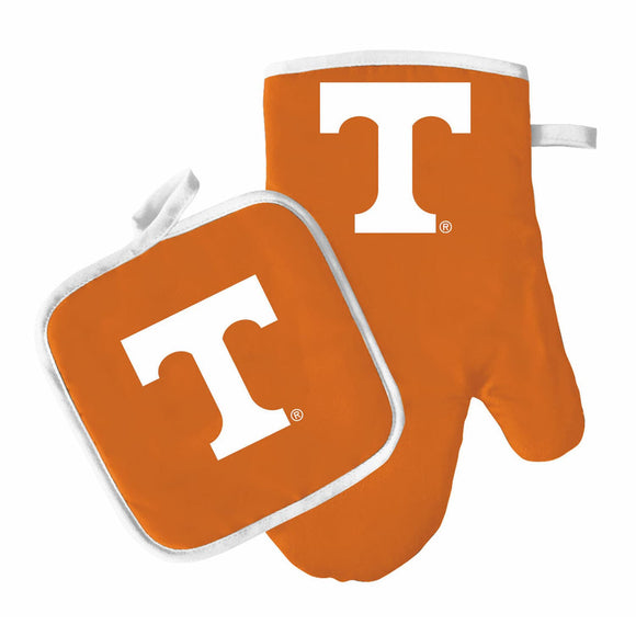 Tennessee Volunteers Oven Mitt And Pot Holder - Diamond Home USA