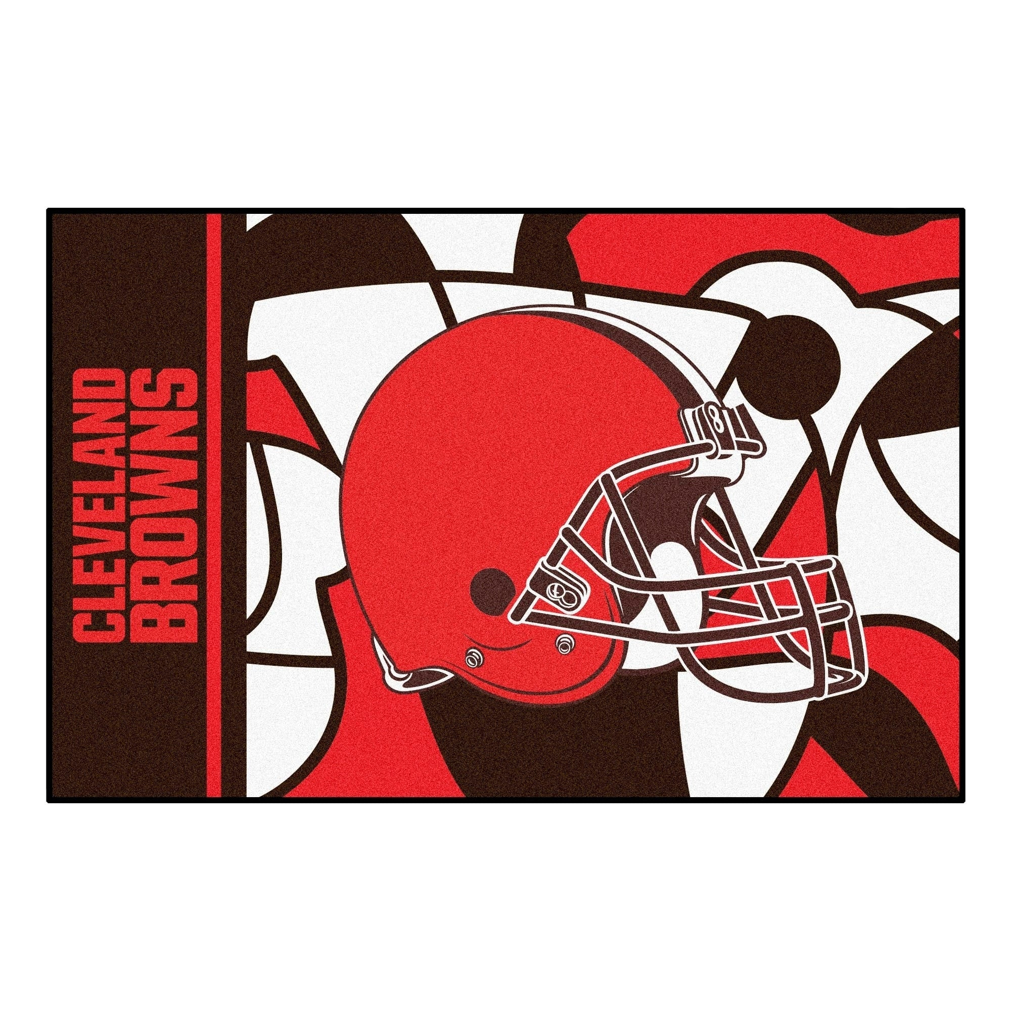 "Cleveland Browns Starter Rug 19""x30"" - Diamond Home USA"