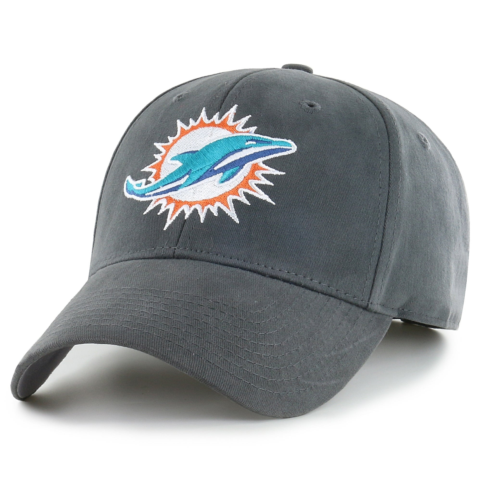 Miami Dolphins Grey Adjustable Hat - Diamond Home USA
