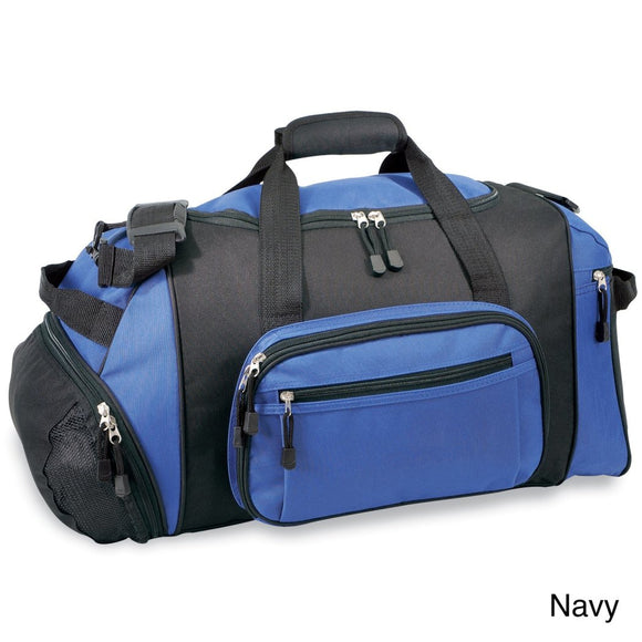 Crossfit Gym Bag Carry Sport Cooler Duffel Bag Sports Pattern Adjustable Strap Compartment Fabric Polyester Black