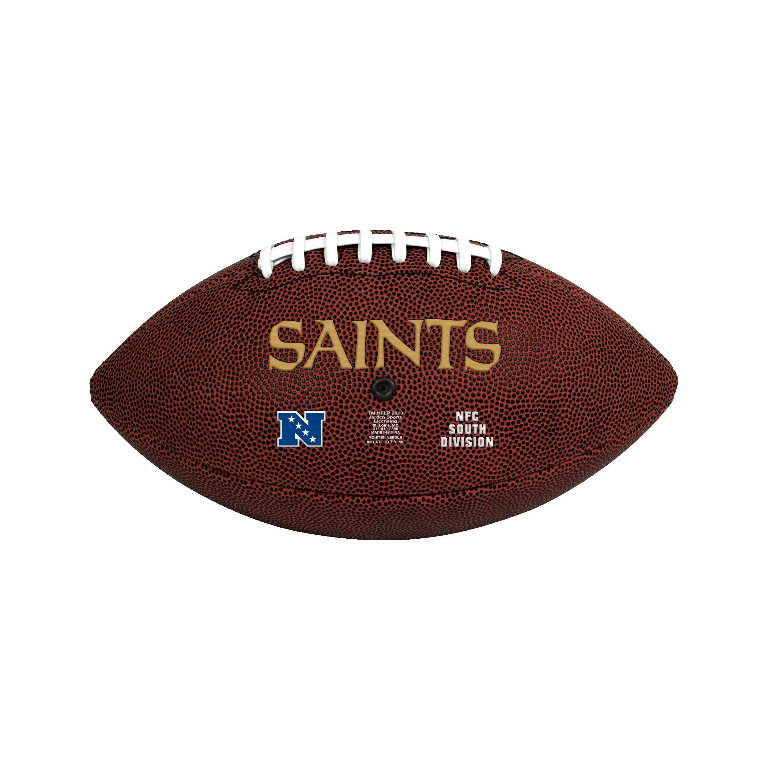 New Orleans Saints Official Size Game Time Football - Diamond Home USA