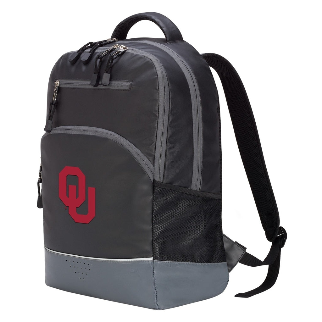 Oklahoma Sooners Alliance Backpack Black Nylon - Diamond Home USA