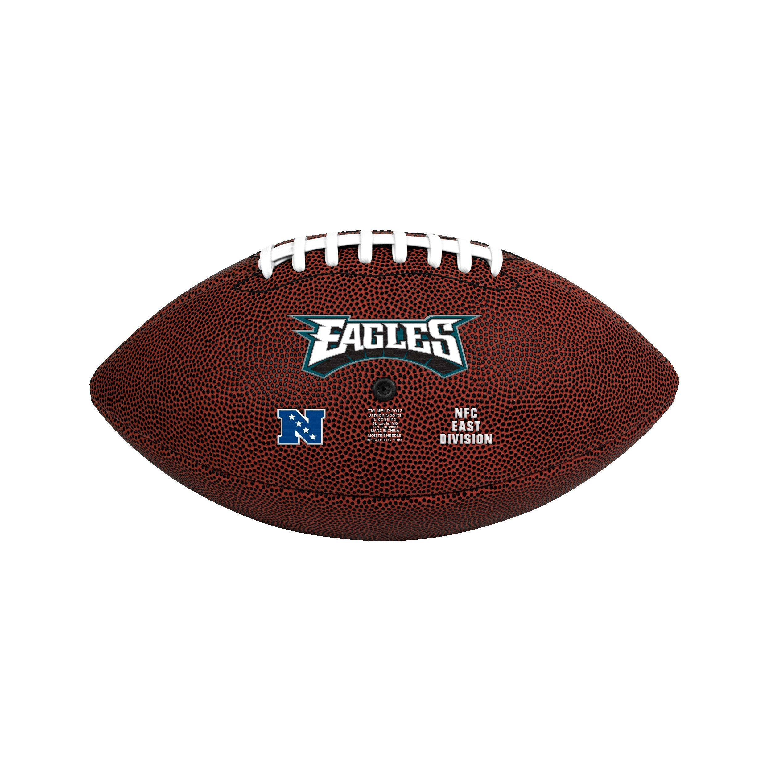Philadelphia Eagles Official Size Football - Diamond Home USA