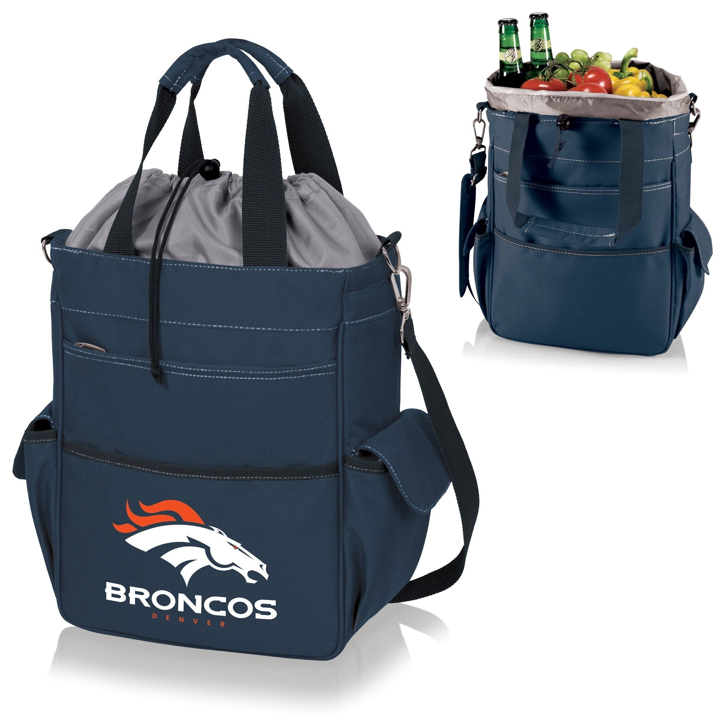 Activo Navy Tote ( Denver Broncos) navy - Diamond Home USA