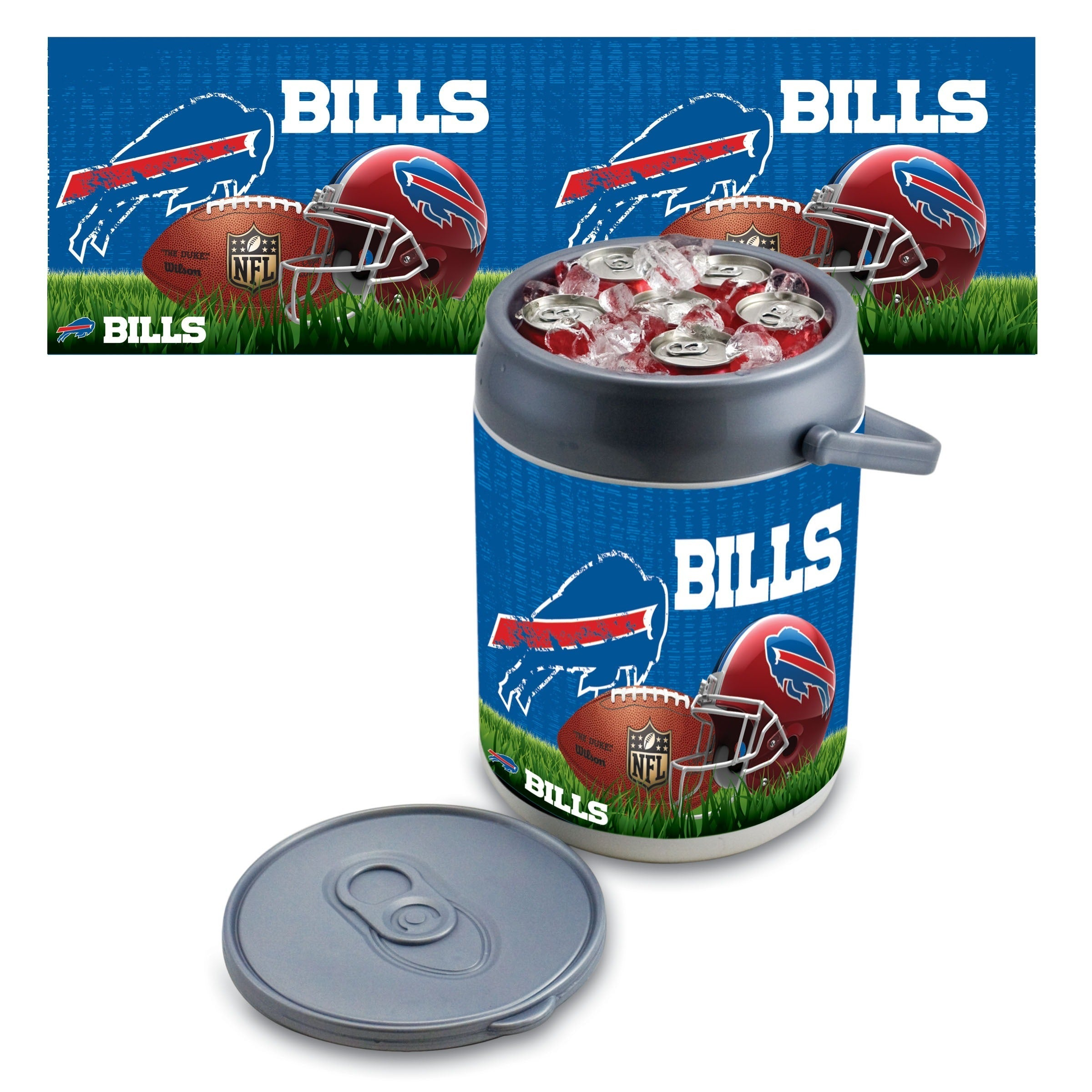 Picnic Time Buffalo Bills Can Cooler - Diamond Home USA