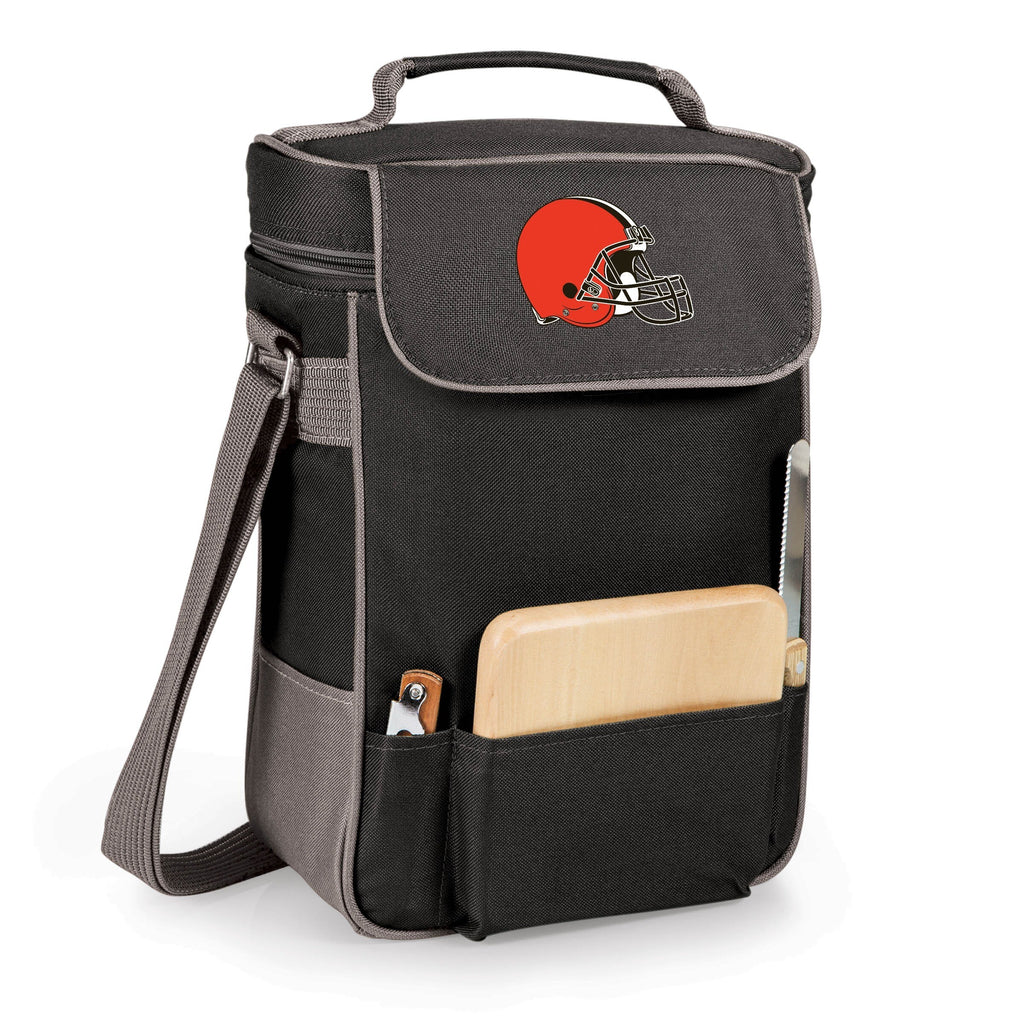 Picnic Time Cleveland Browns Duet Tote Black - Diamond Home USA