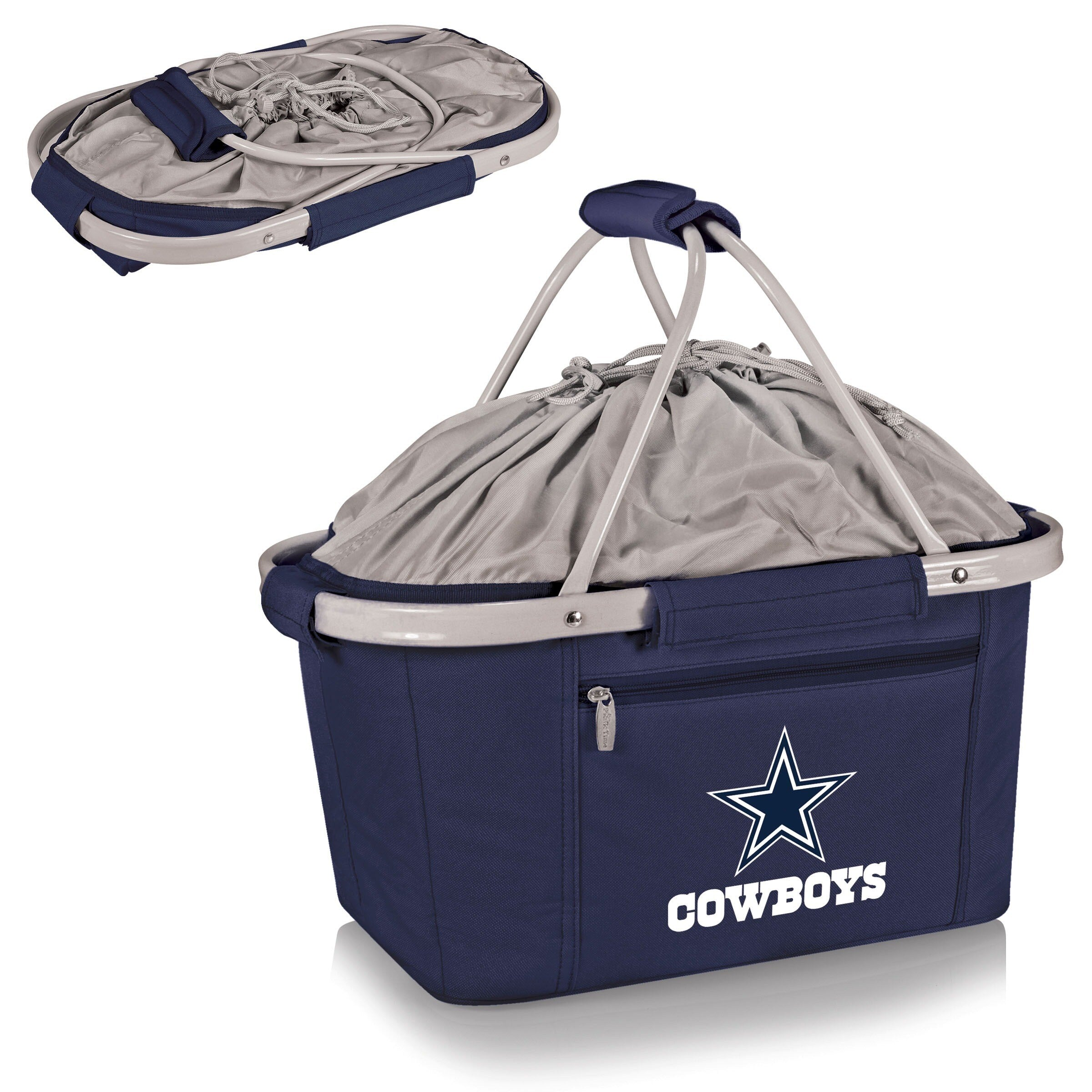 Picnic Time Dallas Cowboys Metro Basket navy - Diamond Home USA