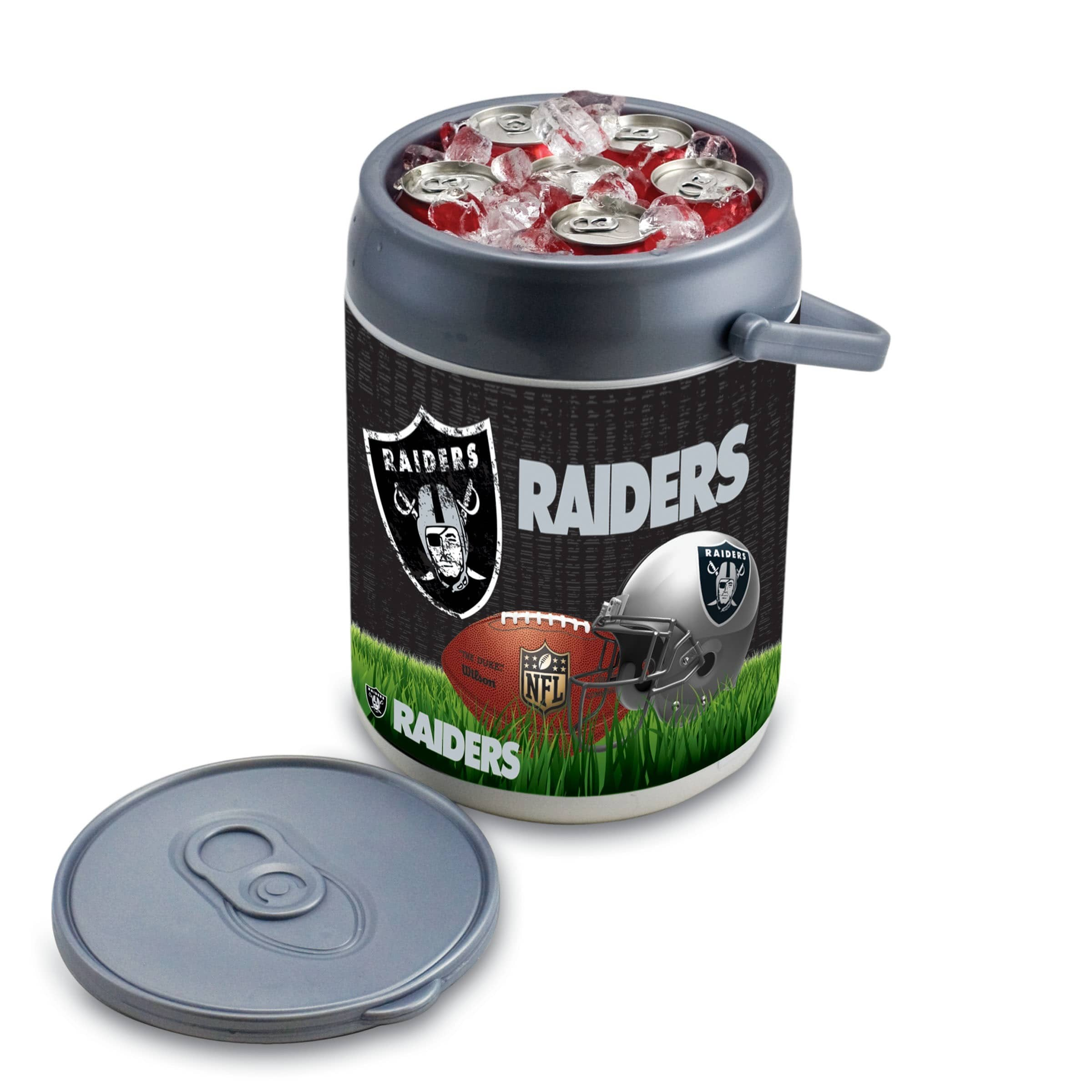 Picnic Time Oakland Raiders Can Cooler - Diamond Home USA