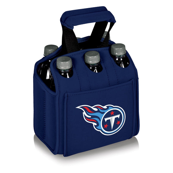 Picnic Time Tennessee Titans Six Pack Case navy - Diamond Home USA