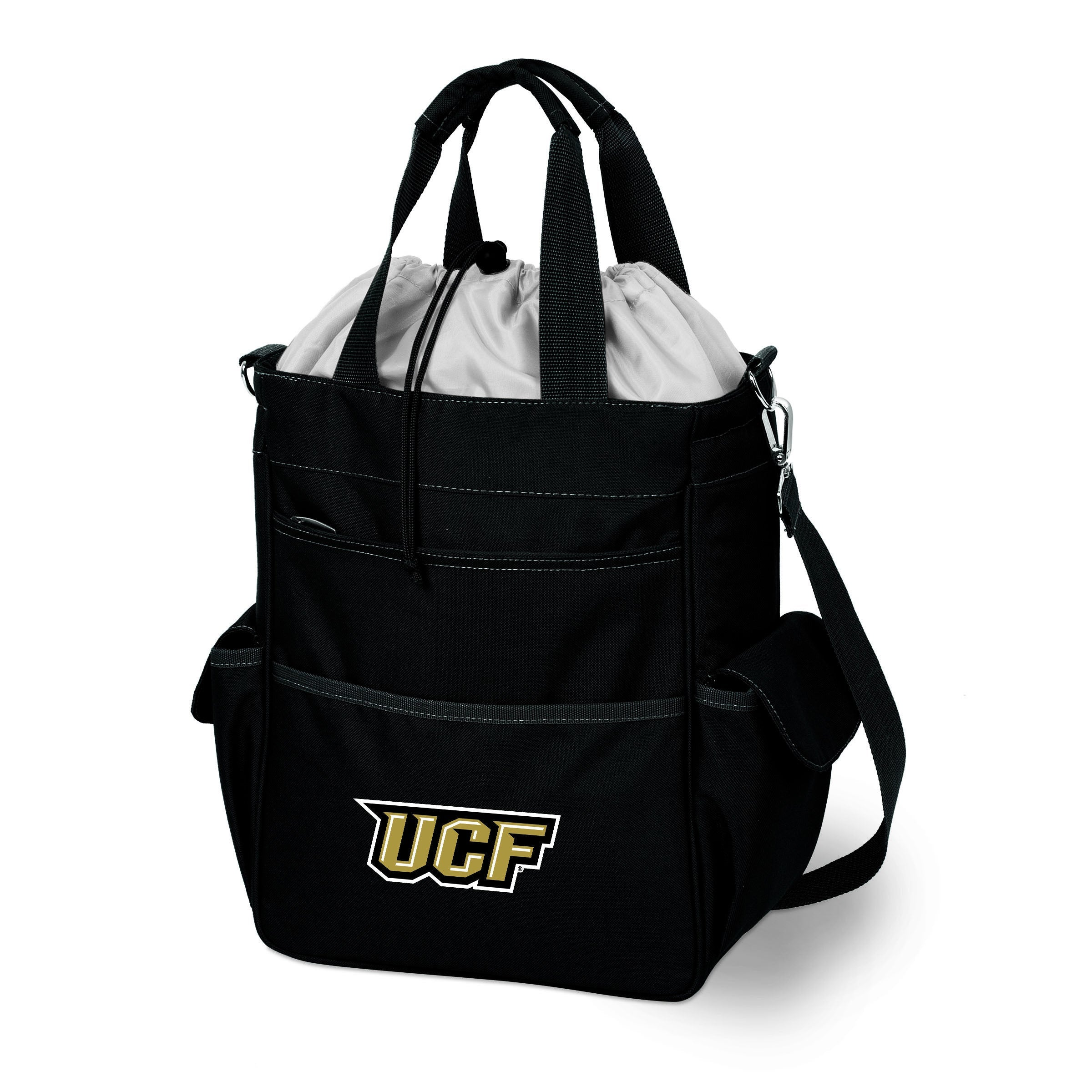 Picnic Time U of Central Florida Knights Activo Tote Black - Diamond Home USA