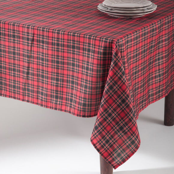 Oblong Plaid Tablecloth Christmas Theme Cabin Lodge Table Cloth Rugby Ljack Stripe Madras Tartan Pattern Square Checkered Design
