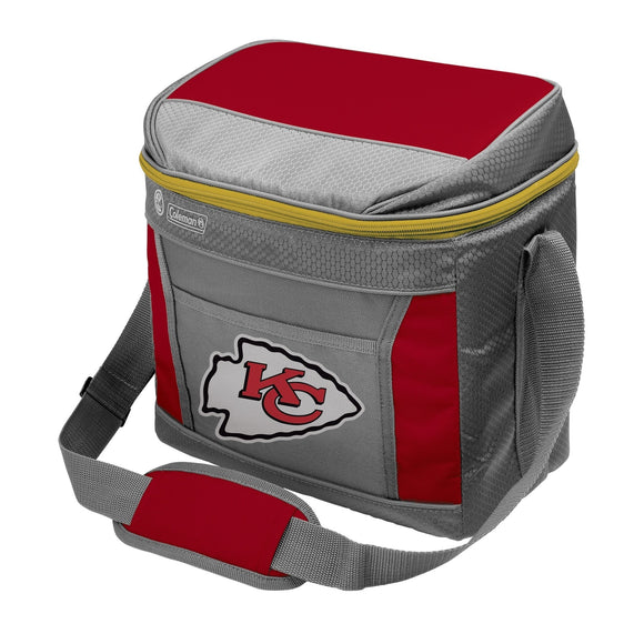 Kansas City Chiefs 16 Can Soft Sided Cooler - Diamond Home USA