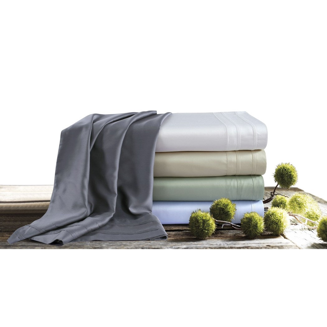 Sheet Set Bamboo Themed Bedding Soft Luxurious Lush Rich Silky Modern Comfortable Cool Smooth Thread Count Pocket Rayon