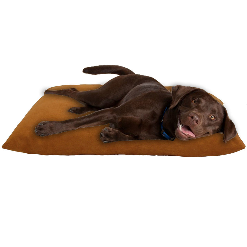 Fashonable Comfortable Relaxing Restpet 36 inch Burnt Pet Bed Orange - Diamond Home USA
