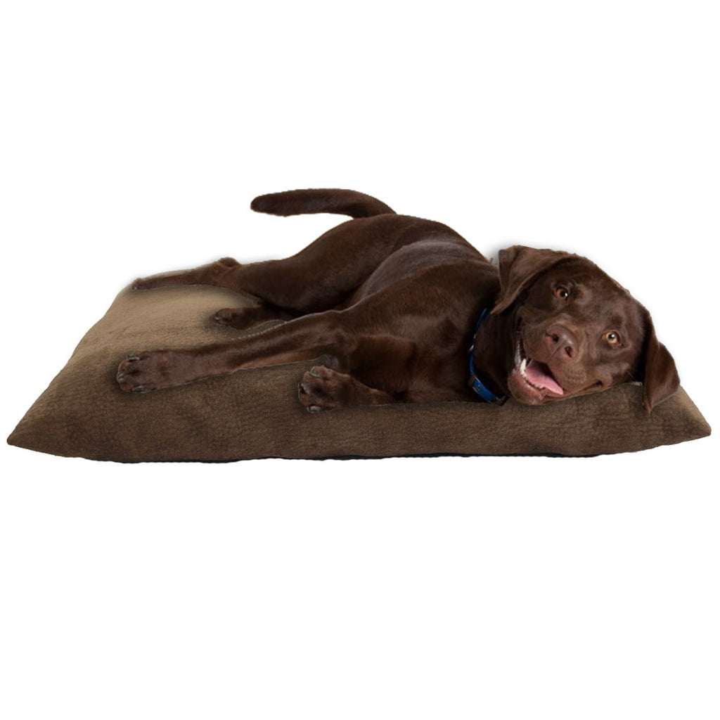 Fashonable Comfortable Relaxing Restpet 36 inch Burnt Pet Bed Mocha Brown - Diamond Home USA