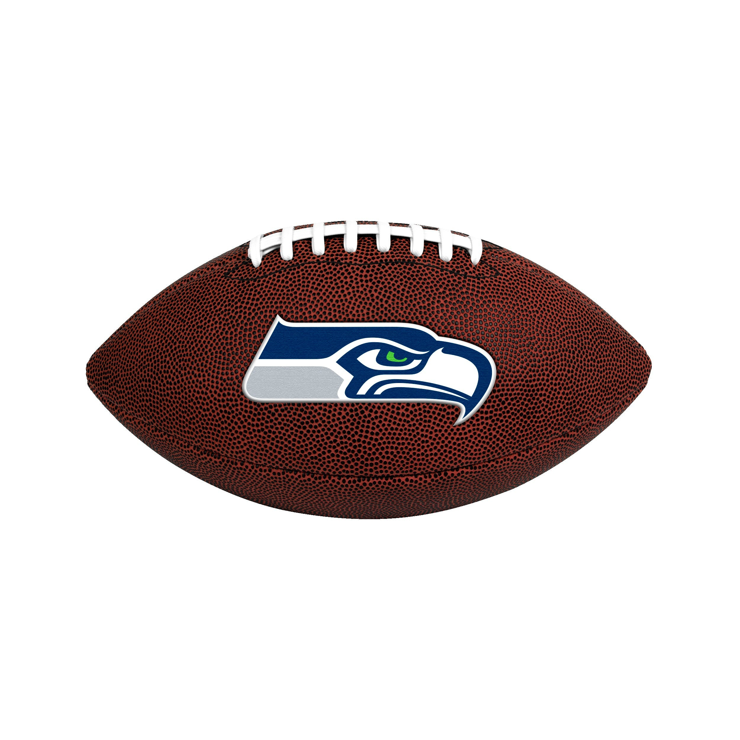Seattle Seahawks Official Size Game Time Football - Diamond Home USA