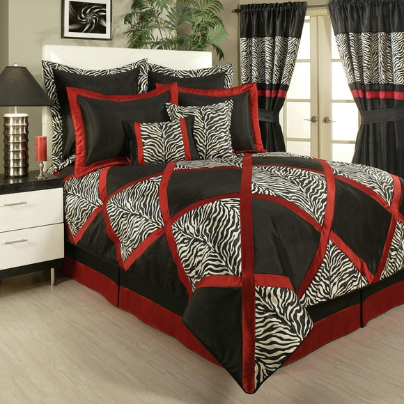 Sherry Kline True Safari Bedding Collection Black