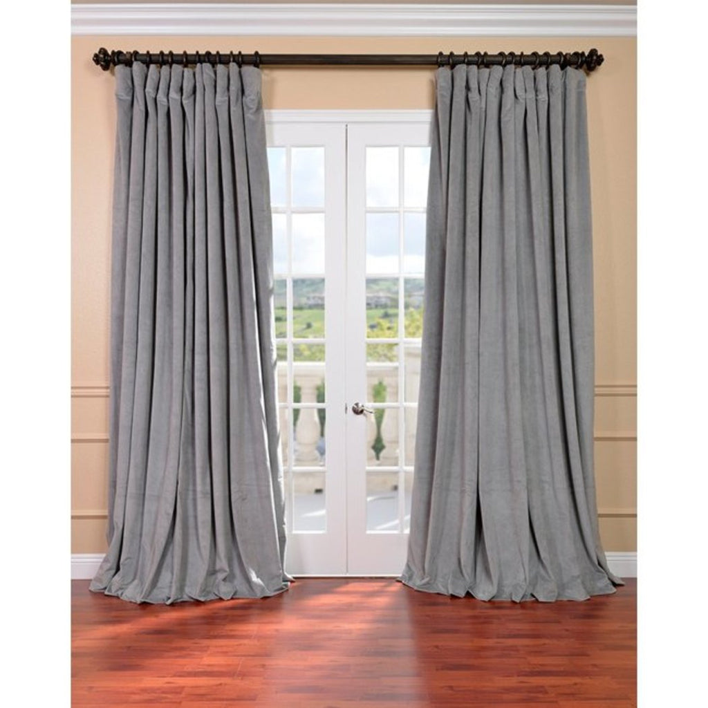 Girls Blackout Extra Wide Curtain Single Panel Allover Pattern Window Drapes Kids Themed Energy Efficient Rod Pocket Playful