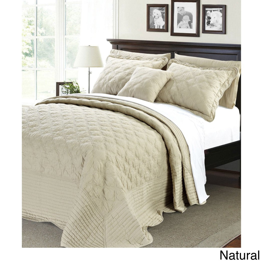 Oversized Bedspread Floor Set Extra Long Quilt Bedding Drops Over Edge Bed Hangs Side Frame Wide Large French Country