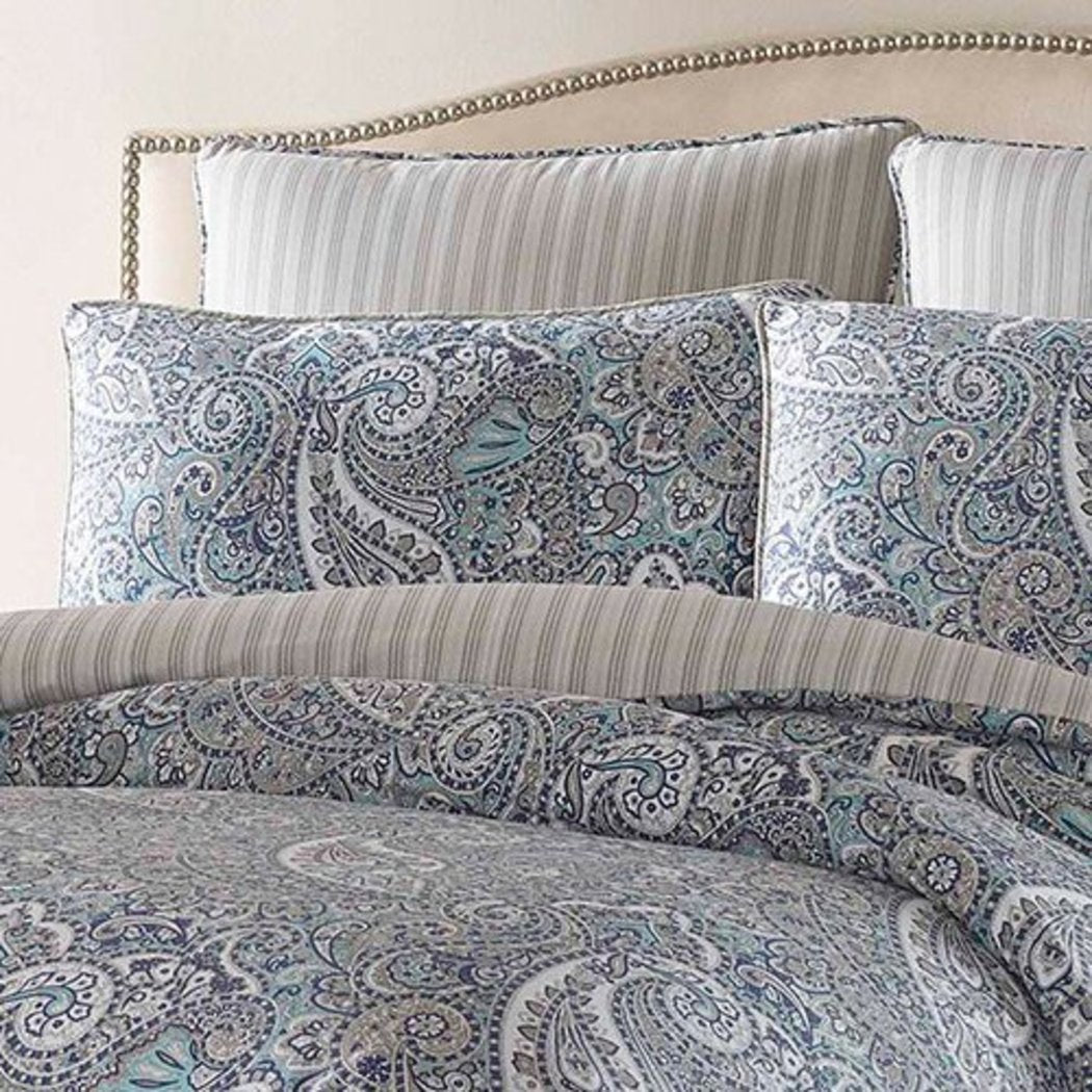 Cottage Cotton Sateen Comforter Set Lancaster