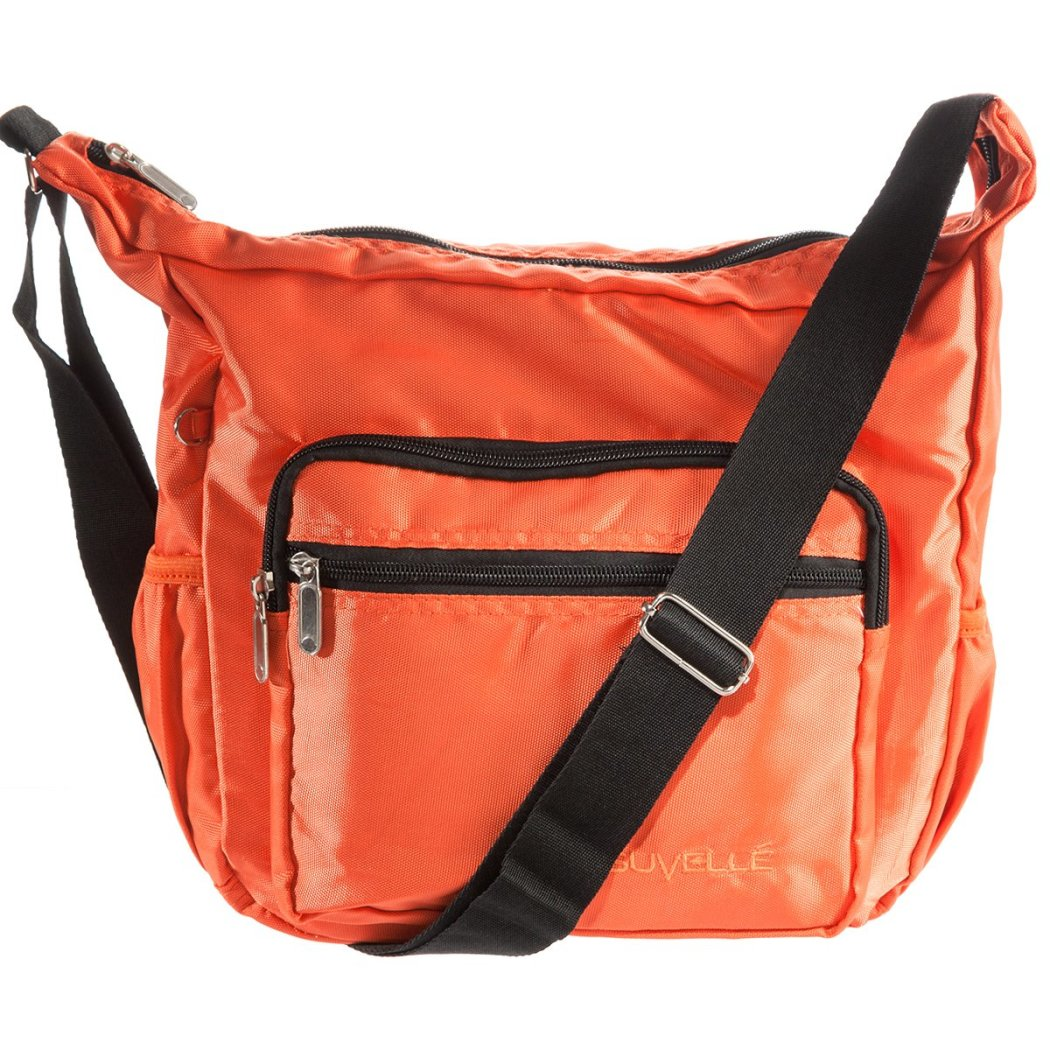 Messenger Bag Water Resistant Adjustable Shoulder Strap Nylon