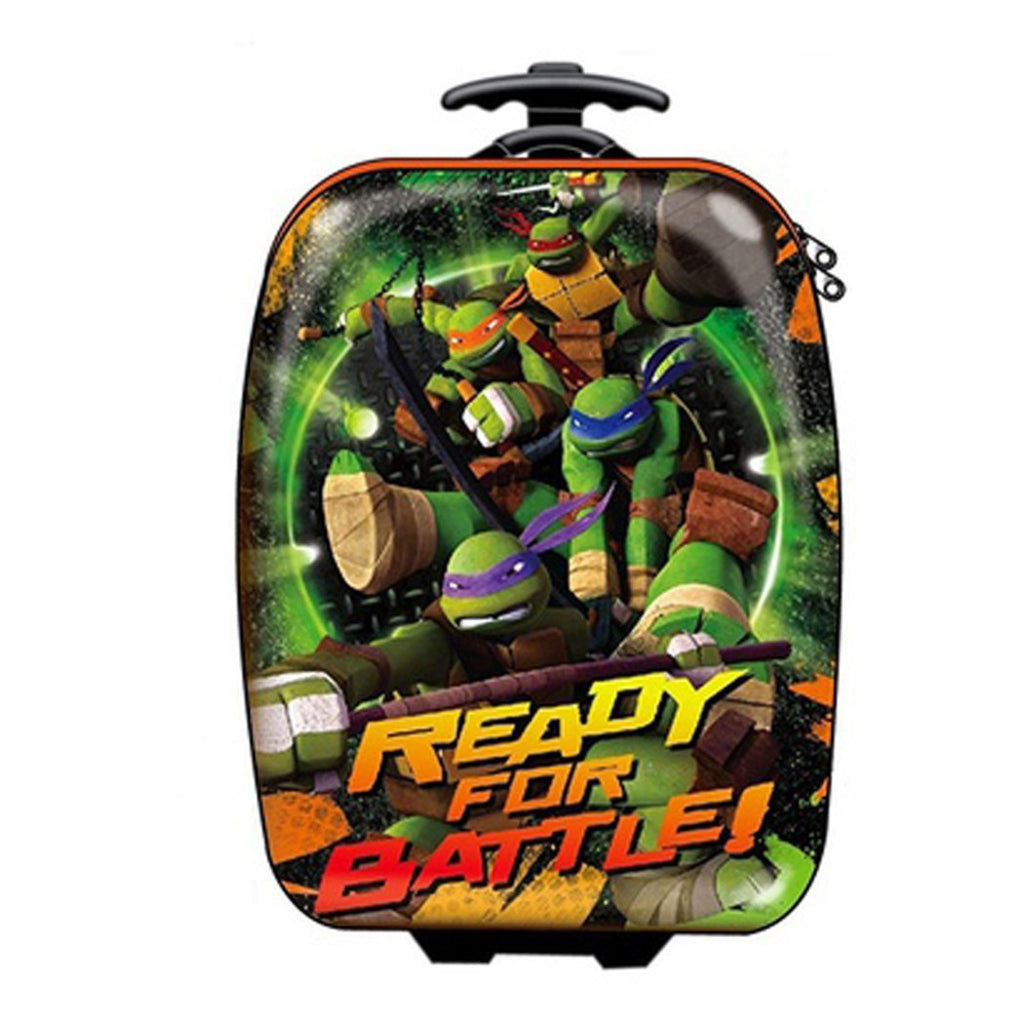 Teenage Mutant Ninja Turtles 18 inch Kids Hardside Rolling Upright Suitcase - Diamond Home USA