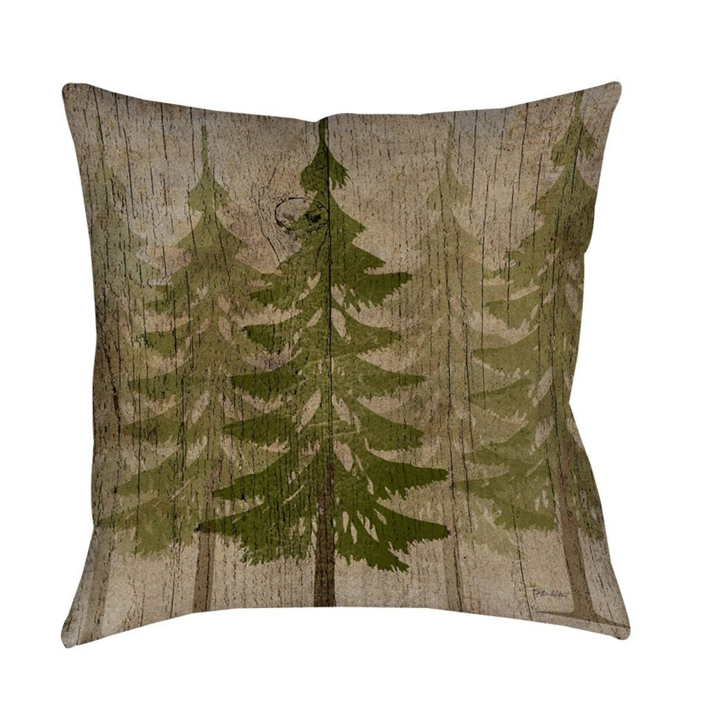 s Throw Pillow Nature Design Pretty Embroidered Hunting Pattern Sofa Pillow Southwest Country Square Shape Polyester