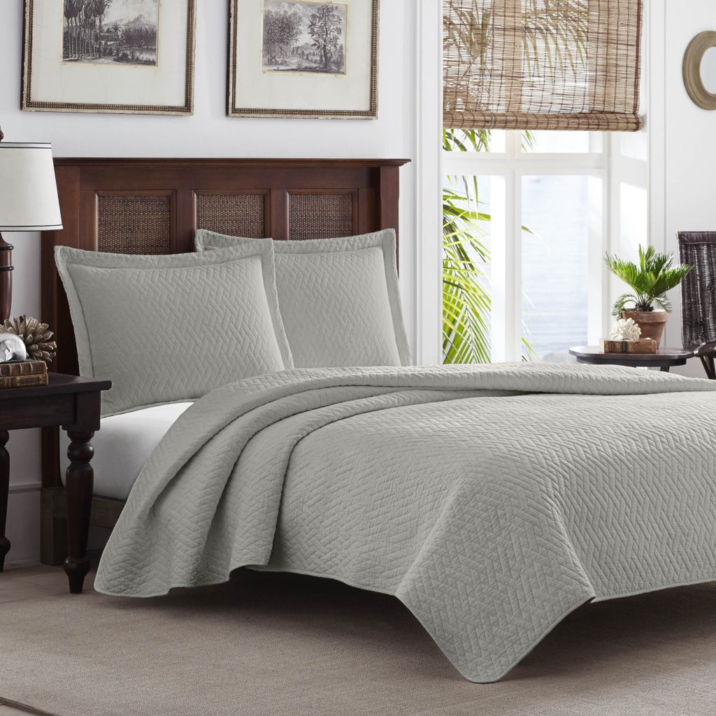 Best Comfort Weight Bedding Collection Coverlet Set Pelican
