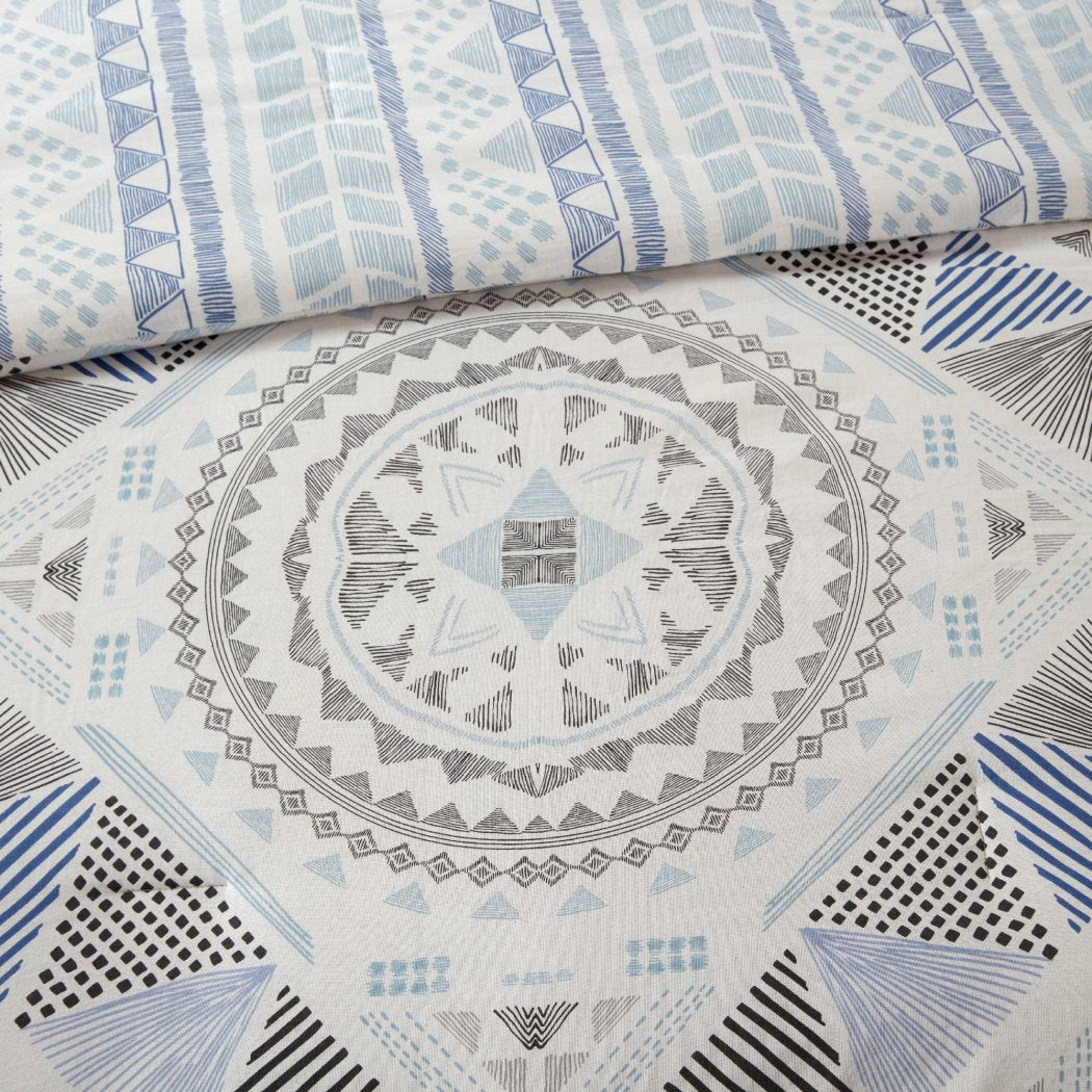 Abstract Comforter Set Aztec Striped Geometric Medallion Mandala Pattern Stripe Adult Bedding Master