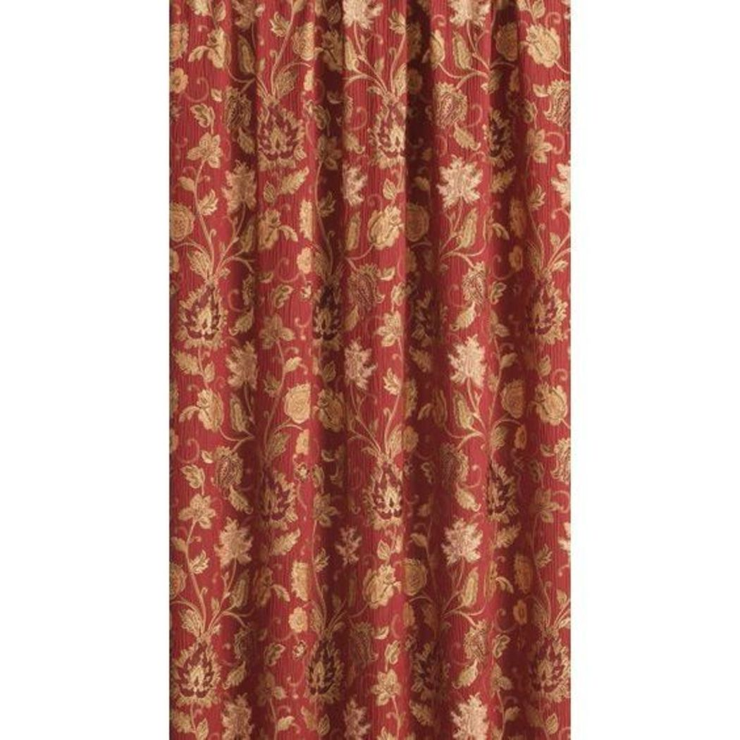 Girls Jewel Floral Window Curtain Single Panel Royal Flowers Printed Hippy Bohemian Window Treatment Garden Themed