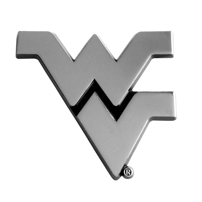West Virginia Chromed Metal Emblem - Diamond Home USA