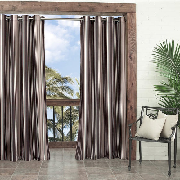 Gazebo Curtain Striped Pattern Rugby Outside Indoor/Outdoor Pergola Drapes Porch Deck Cabana Patio Screen Entrance Sunroom Stripes