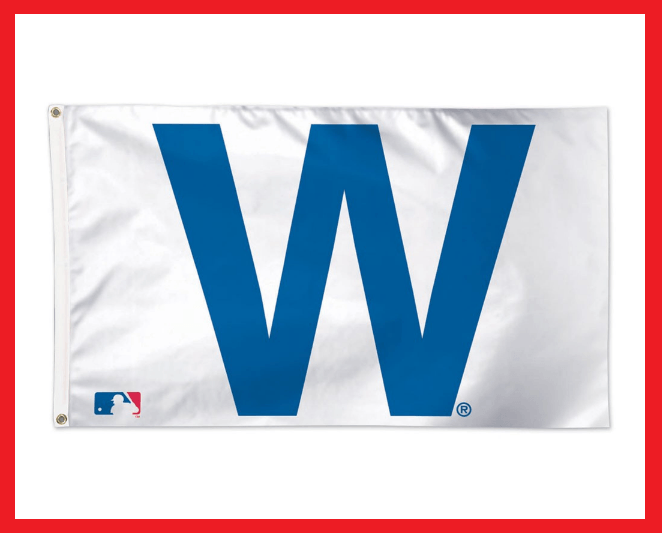 3ft x 5 ft Chicago Cubs W Flag Victory Banner Wrigley Field - Man Cave - Diamond Home