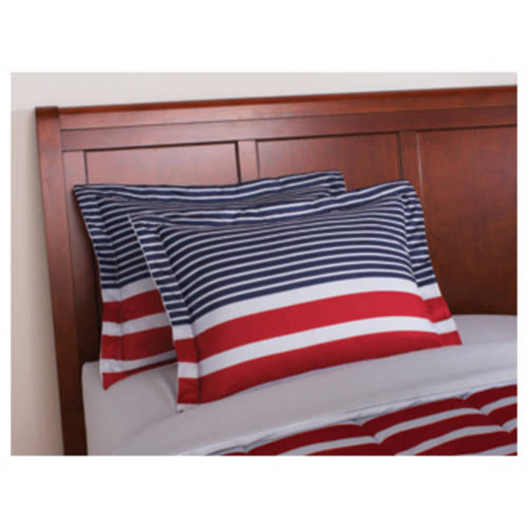 Boys Striped Bed In A Bag Bedding Set (Full