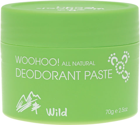 Woohoo Natural Extra Strength Deodorant Paste