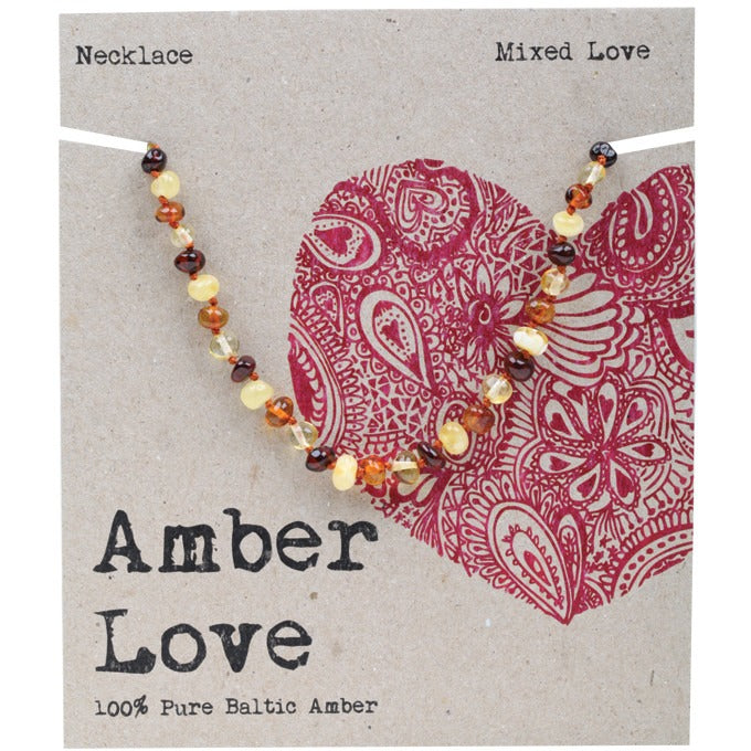 Amber Love Multi Child Necklace 33cm - Essentially Health Online Vegan Health Store Afterpay