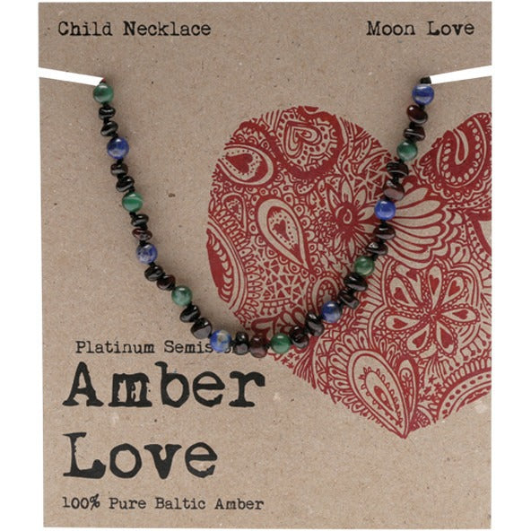 Amber Love Amber Moon Love Children's Necklace 33cm - Essentially Health Online Vegan Health Store Afterpay