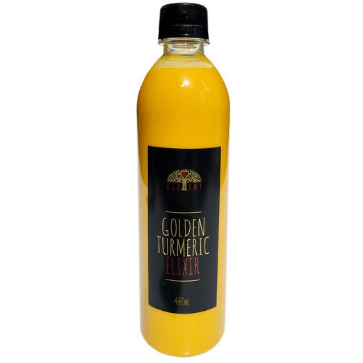 Alchemy Cordials Golden Turmeric Elixir 500ml - Essentially Health Online Vegan Health Store