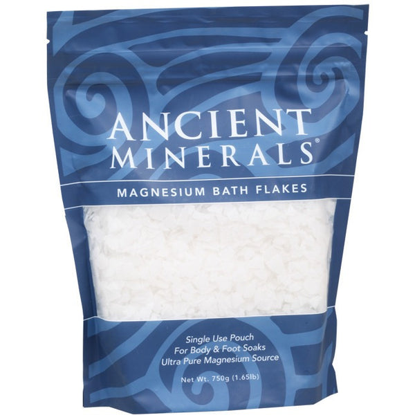 Ancient Minerals Magnesium Chloride Flakes 750g - Essentially Health Online Vegan Health Store