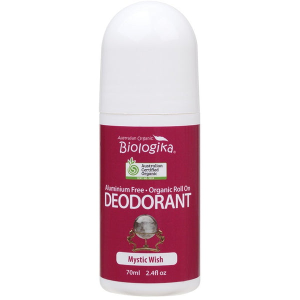 Biologika Roll-on Deodorant Mystic Wish 70ml - Essentially Health Online Vegan Health Store Afterpay