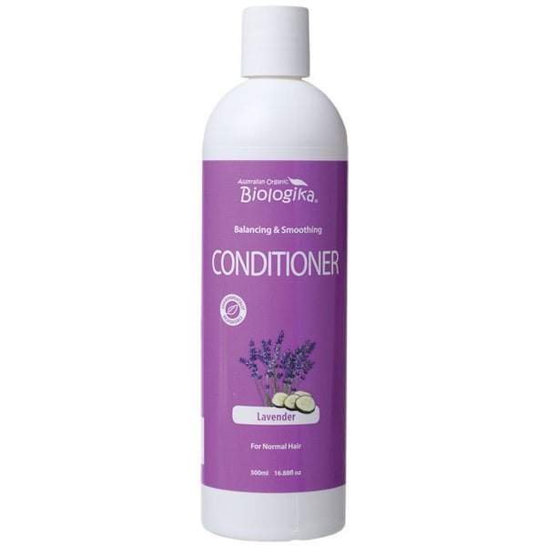 Biologika Conditioner Lavender (Normal Hair) 500ml - Essentially Health Online Vegan Health Store Afterpay