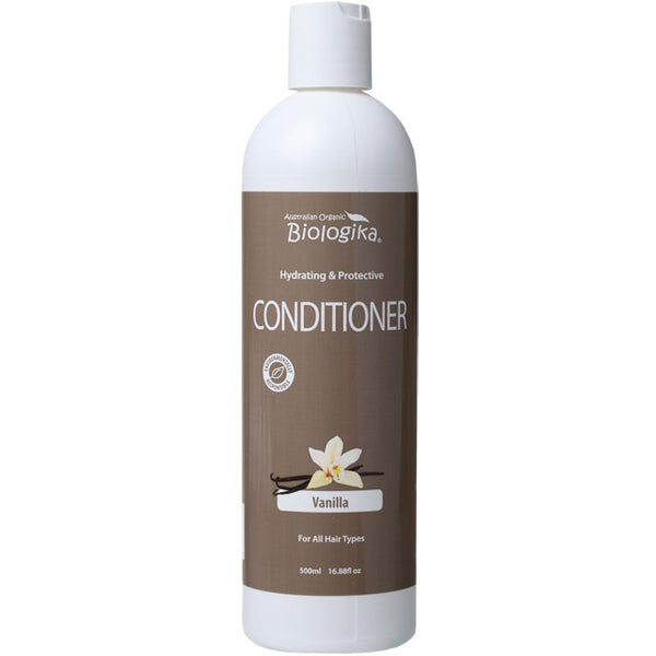 Biologika Conditioner Vanilla 500ml - Essentially Health Online Vegan Health Store Afterpay
