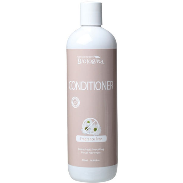 Biologika Conditioner Fragrance Free 500ml - Essentially Health Online Vegan Health Store Afterpay