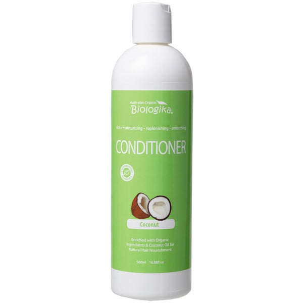 Biologika Conditioner Coconut 500ml - Essentially Health Online Vegan Health Store Afterpay