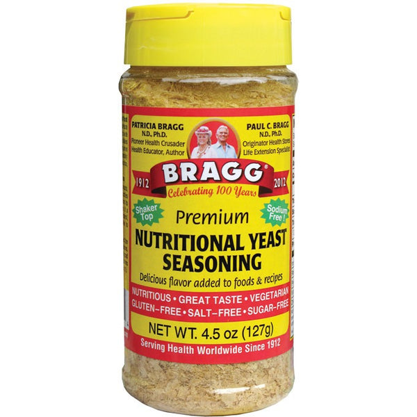 Bragg Seasoning Nutritional Yeast 127g - Essentially Health Online Vegan Health Store